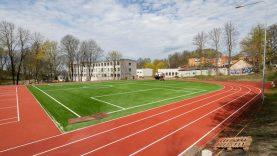 Vilniuje atnaujinami sporto aikštynai