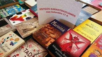 Šiaulių apskrities Povilo Višinskio viešoji biblioteka atnaujino knygų išdavimą skaitytojams