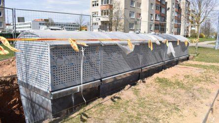 Pradėtos rengti konteinerių aikštelės