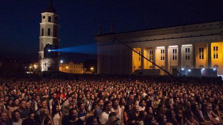 """Kaip ir karantinas, """"Vilniaus festivalių"""" pirmasis namų koncertų ciklas eina į pabaigą"""