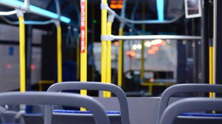 Susiekimo ministerija: patikrinta, ar vietos ir tarpmiestiniuose autobusuose laikomasi karantino režimo saugos reikalavimų