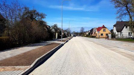 Keliai – prioritetinė rajono infrastruktūros gerinimo dalis