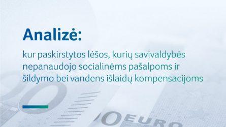 Piniginei socialinei paramai skirtos lėšos: naujo reikalavimo dėl jų perskirstymo laikėsi trečdalis savivaldybių