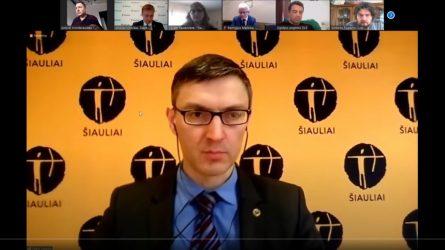 Miesto aktualijos pristatytos Šiaulių miesto savivaldybės spaudos konferencijoje