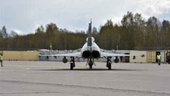 Ruošiamasi NATO oro policijos misijos pasikeitimui: atvyksta pirmieji Jungtinės Karalystės kariai
