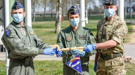 Baltijos šalių oro erdvėje patruliuos Ispanijos, Jungtinės Karalystės ir Prancūzijos naikintuvai