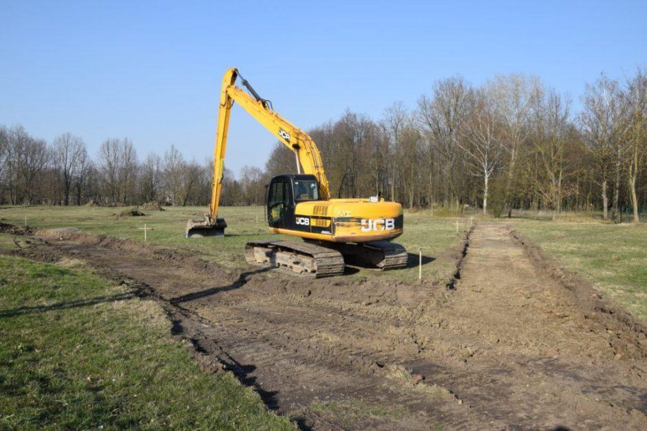 Prasideda Vilkaviškio miesto sodo sutvarkymo darbai