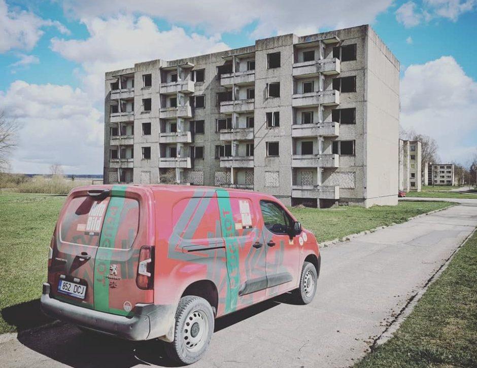 Vitoldas Milius apvažiavo aplink Lietuvą – 1640 km žvyrkeliais su furgonu