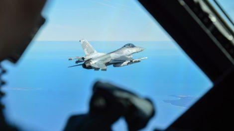 Baltijos regione - NATO karinių orlaivių pratybos