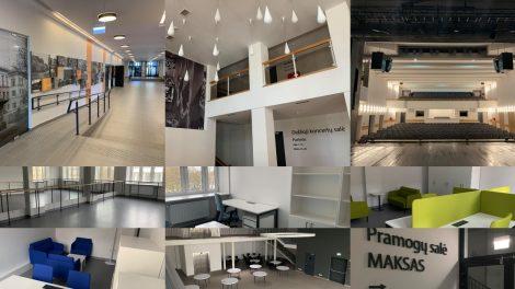 Renovacija baigta Šiaulių kultūros centras duris atvers atsinaujinęs ir modernus