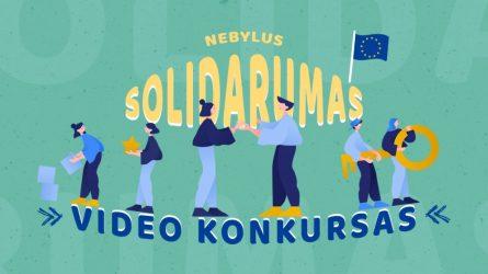 """Trumpų video filmukų konkursas """"Nebylus solidarumas"""""""
