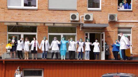 Medicinos darbuotojų dieną – šiauliečių menininkų dovana medikams