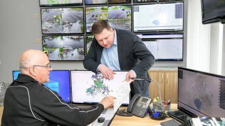"""""""Šiaulių gatvių apšvietimo""""  planuose – ir viso miesto tinklų atnaujinimas, ir saulės elektrinė"""
