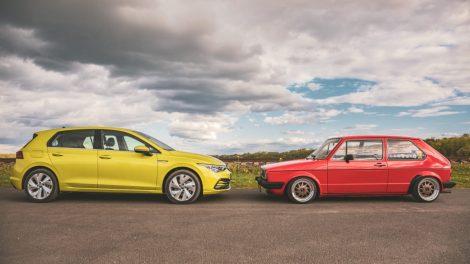 Aštuntos kartos VW Golf susitikimas su proseneliu