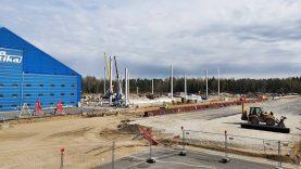 Kauno oro uoste kyla lėktuvų dažymo angarai
