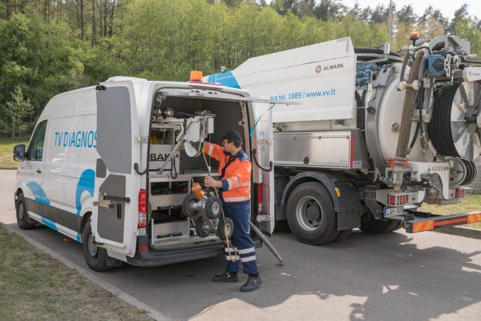 """""""Vilniaus vandenys"""" pernai dirbo su mažesnėmis pajamomis, tačiau pelnė didesnį vandens vartotojų pasitikėjimą"""