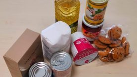 Gyventojus pasiekė parama maisto produktais