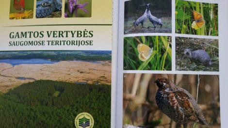 Naujas leidinys apie gamtos vertybes saugomose teritorijose