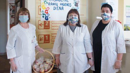 Ligoninėje paminėta Pasaulinė rankų higienos diena
