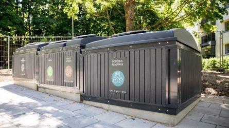 Atliekų aikštelių įrengimo darbai tęsiasi – iki 2022 Vilniuje jų atsiras dar beveik 500