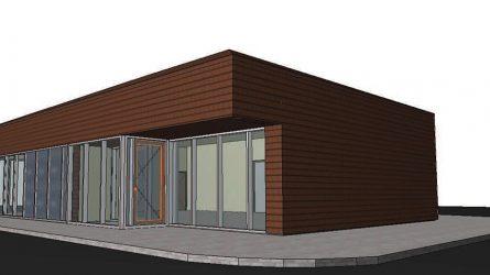 Parduotuvės naujos statybos Mažeikiuose projektinių pasiūlymų svarstymas su visuomene