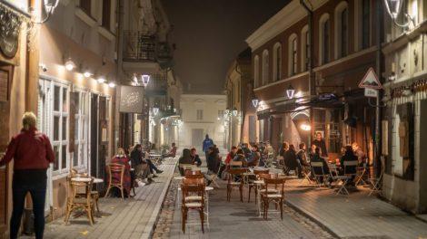 Laisvė lauko kavinėms Vilniuje: jau išduoti 270 leidimų