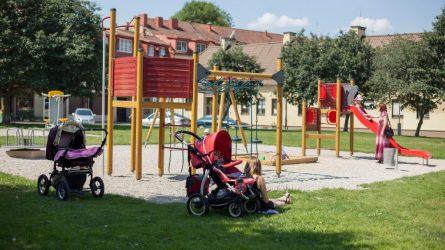 Vilniuje atveriamos žaidimų ir sporto aikštelės lauke – saugumo rekomendacijos išlieka