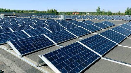 Paskirstytos lėšos dėl saulės fotovoltinių elektrinių įrengimo
