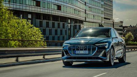 """Audi"" premjera Lietuvoje: sportiškas, funkcionalus ir visiškai elektrinis ""e-tron Sportback"""