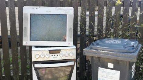 Elektronikos atliekų rūšiavimas karantino metu