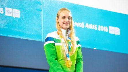 Po sunkiausių gyvenime metų – nauji jaunimo olimpinės čempionės išbandymai