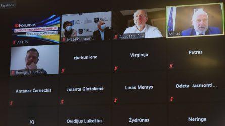 Nuotoliniu būdu vykusiame IQ forume – apie situaciją Lietuvoje, prognozės ir įžvalgos