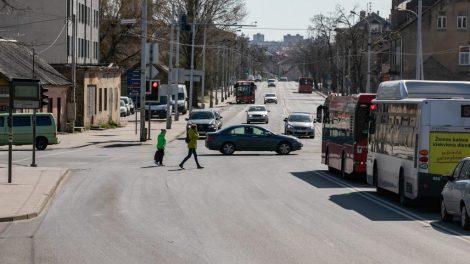 Vilnius toliau plečia viešajam transportui skirtų eismo juostų tinklą