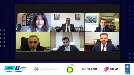 """Ministras nuotolinėje """"World Net Summit"""" konferencijoje Azerbaidžane pristatė Lietuvos pasiekimus inovacijų ir skaitmeninių technologijų srityje"""