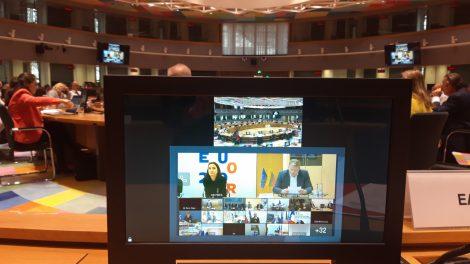 """Ministras A. Palionis: ,,Europos Komisija turėtų pasiūlyti daugiau priemonių"""""""