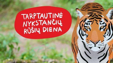 Tarptautinei nykstančių rūšių dienai – renginiai Lietuvos zoologijos sode