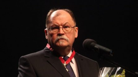 Kultūros ministras sveikina kompozitorių Algirdą Martinaitį 70-mečio proga