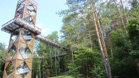 Saugomose teritorijose atsiveria lankytojų centrai ir apžvalgos bokštai