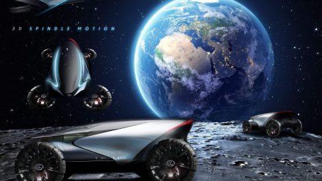 Kurio gamintojo automobilis pirmasis važinės Mėnulyje?