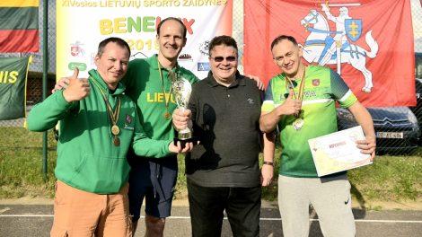 Olimpinės sporto šakos nesvetimos ir Lietuvos ministrams