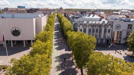 Kaune toliau nyksta sovietmečio palikimas: rūbą keičia ir S. Daukanto gatvė