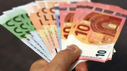 Iš finansinės paramos dėl karantino – draudimas išieškoti skolas