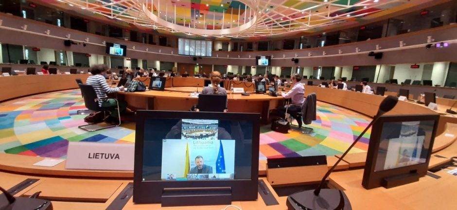Turizmo sektoriaus situacija aptarta su ES valstybėmis narėmis