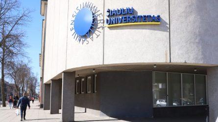 Vilniaus universitetas atskleidė planus dėl Šiaulių