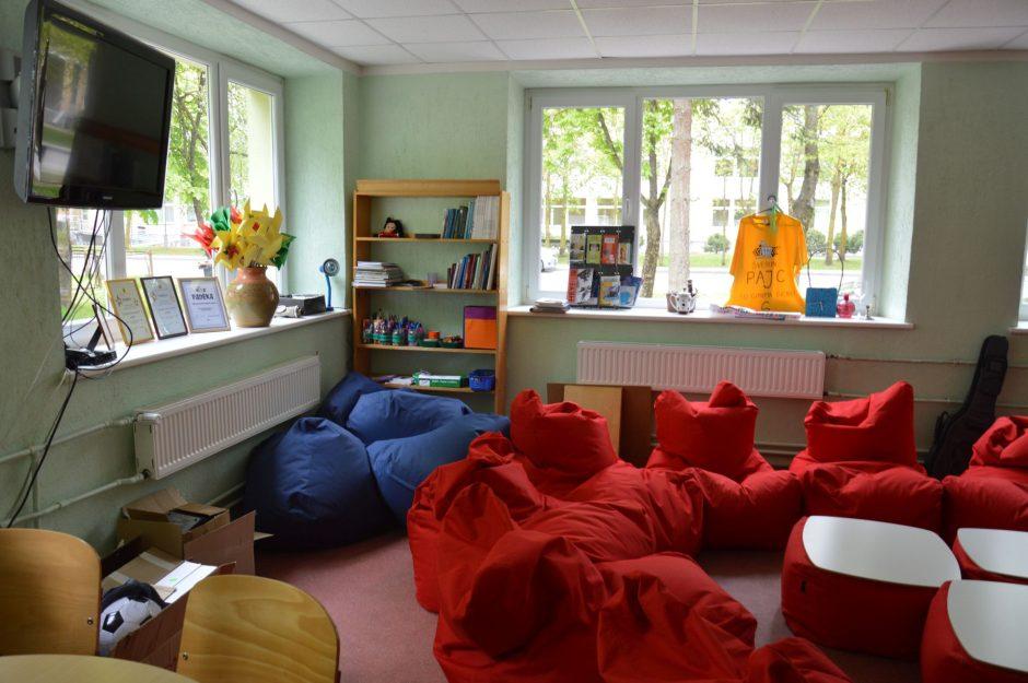 Atviras jaunimo centras laikinai persikėlė į kitas patalpas