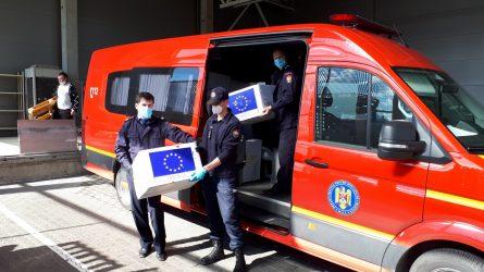 Europos Komisijos perduotų 20 tūkstančių respiratorių keliaus į medicinos rezervą
