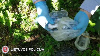 Vilniaus policija sulaikė gerai žinomą narkotikų prekeivę (video)