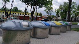 Atliekos iš  Alytaus daugiabučių netrukus keliaus į naujus konteinerius