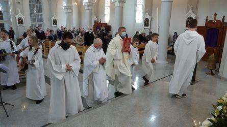 Kybartuose pagerbtas kunigas altarista Vaclovas Stakėnas