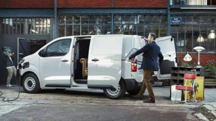 """""""Citroën"""" pristato pirmąjį elektra varomą komercinį mikroautobusą """"ë-Jumpy"""""""